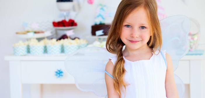 Little fairy on birthday party