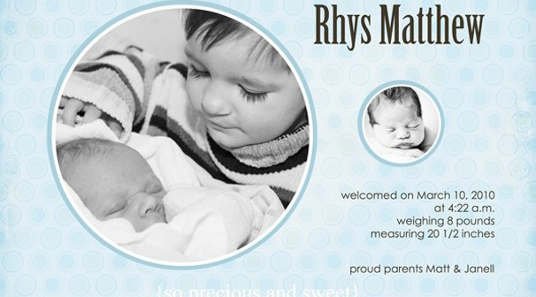 big-brother-birth-announcement lo; sweet [romce