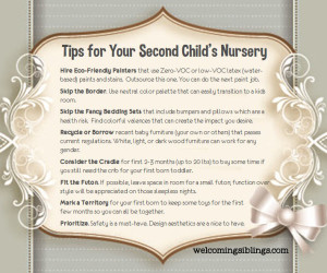 Tips-for-Second-Babys-Nursery-Infographic