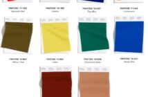 Pantone 2020 2021 Autumn Winter Color Palette for Child's Nursery